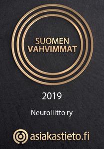 Suomen vahvimmat 2019 -tunnus